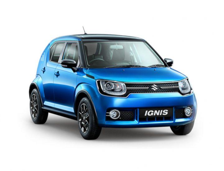 B+  class- Suzuki Ignis 2018